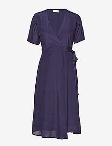 2ND Betts - robes portefeuille - navy blazer