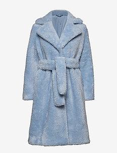 2ND Lalla - fausse fourrure - cashmere blue