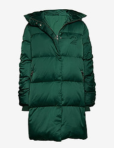 2ND Puff - padded coats - posy green