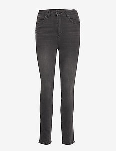 2ND Sadie Cropped Racer - UN BLACK DENIM