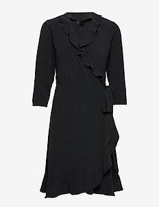 2ND Elly - robes portefeuille - black