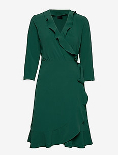 2ND Elly - robes portefeuille - posy green