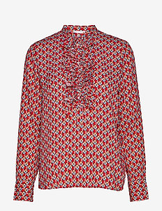 2ND Jerome Circus - blouses med lange mouwen - strawberry pink