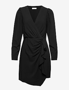 2ND Believe - robes portefeuille - black