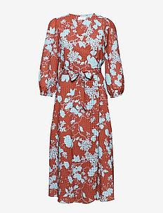 2ND Harlow Flowy - wrap dresses - cerulean blue