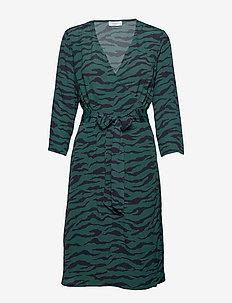 2ND Junelle Zebra - robes portefeuille - atlantic deep
