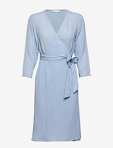 2ND Junelle - robes portefeuille - cerulean blue