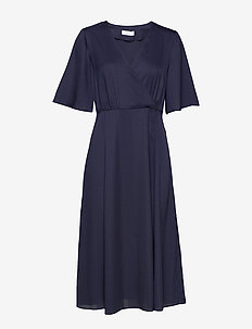 2ND Carly - midi kjoler - blue night