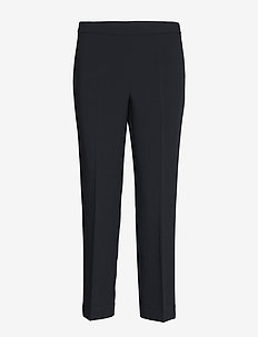 2ND Adrea - straight leg trousers - navy blazer
