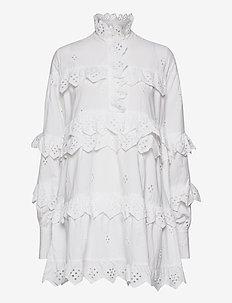 2ND Edition Poppy - robes chemises - white