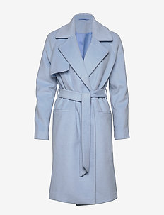 2ND Livia - wool coats - cashmere blue