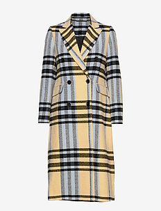 2ND Duster Dashing - wool coats - banana