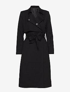 2ND Addie - manteaux en laine - black