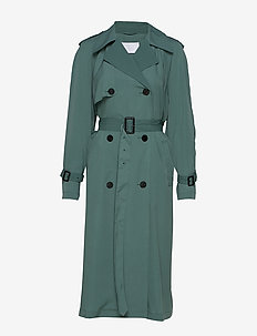 2ND Kendall - trench coats - sagebrush