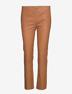2ND Leya - leather trousers - india