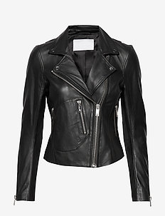 2ND Jess - leather jackets - black