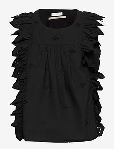 2ND Esther THINKTWICE - blouses zonder mouwen - black