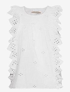 2ND Esther THINKTWICE - sleeveless blouses - white