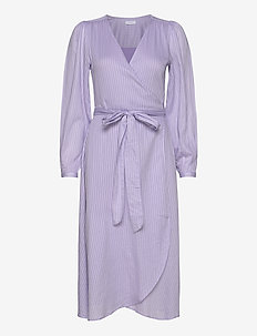 2ND Harlow - wrap dresses - heather