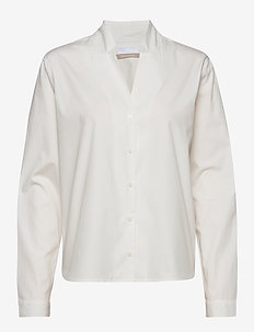 2ND Beth ThinkTwice - blouses med lange mouwen - white