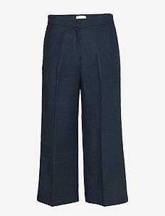 2ND Tessa - pantalons larges - navy blazer