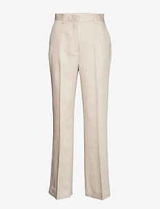 2ND Annie ThinkTwice - pantalons droits - broken white