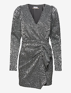 2ND Edition Trina - short dresses - silver