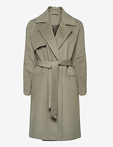 2ND Livia - wool coats - moon dust