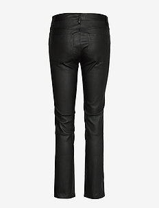 2ND Ruby - leather trousers - black