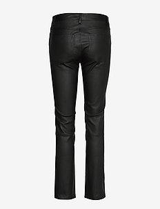 2ND Ruby - læderbukser - black