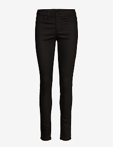 2ND Jolie Coated - skinny farkut - black denim