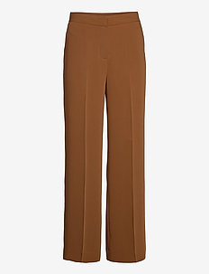 2ND Chrissy - wide leg trousers - classic camel