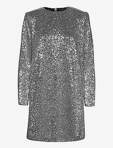 2ND Edition Agrona - maxi jurken - silver