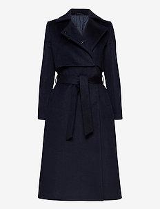 2ND Addie - wełniane płaszcze - navy blazer