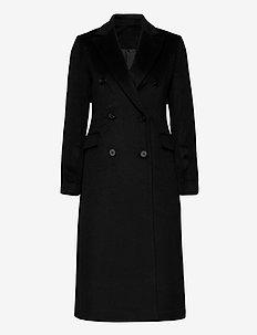 2ND Duster - wool coats - black