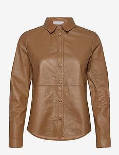 2ND Thurlow - langærmede skjorter - classic camel