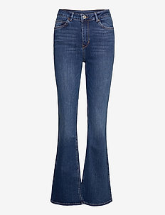 2ND Fiona ThinkTwice - flared jeans - mid blue