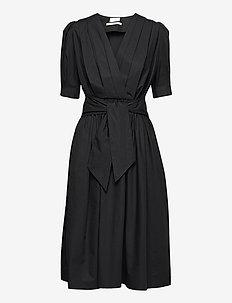 2ND Smith Thinktwice - slå-om-kjoler - black