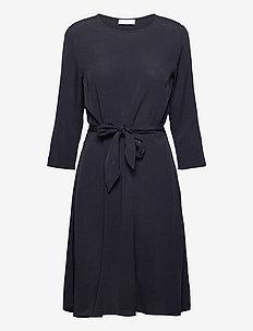 2ND June - midi dresses - black