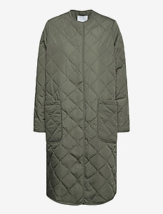 2ND Elvira Thinktwice - quilted jackets - castor