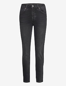2ND Riggis Thinktwice - straight jeans - un black denim