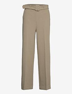 2ND Leonardo - straight leg trousers - winter twig