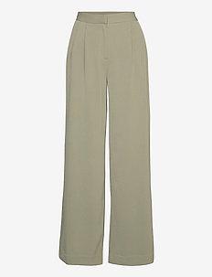 2ND Mille - wide leg trousers - desert sage