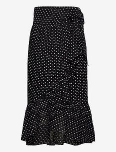2ND Mora Dot ThinkTwice - midi skirts - black