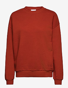 2ND Sweat Thinktwice - sweatshirts & hoodies - red ochre