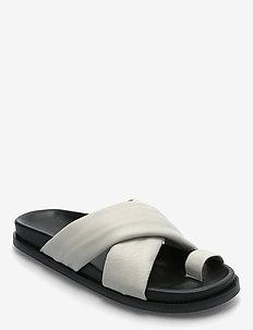 2ND Henri - flat sandals - fog