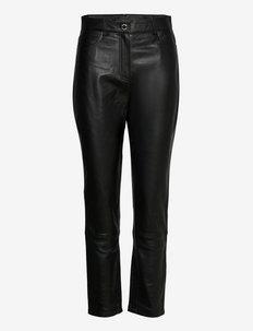2ND Sage - Classic Leather - lederhosen - jet black