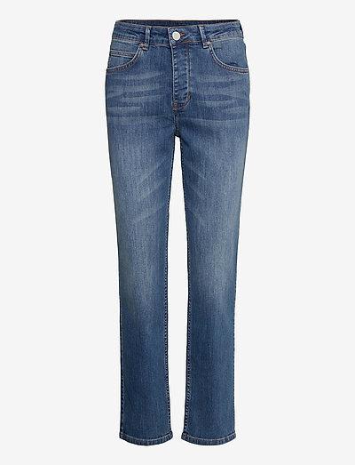2ND Riggis Thinktwice - slim jeans - light blue