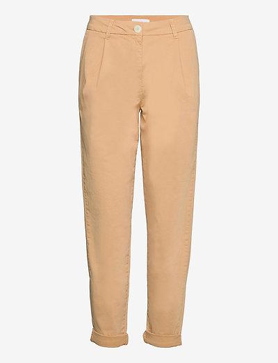 2ND Billie - straight leg trousers - lark