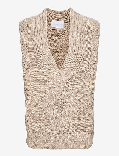 2ND Edition Seles - knitted vests - pure cashmere